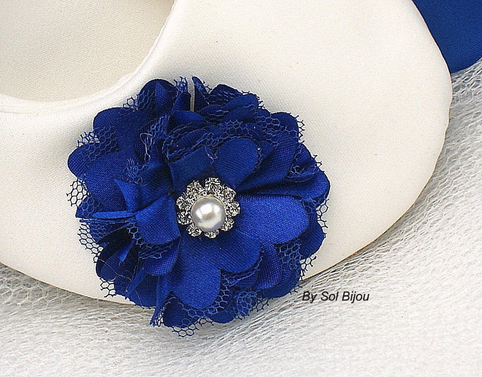 ivory and royal blue bridal satin flats, ballet flats with ties, custom wedding flats