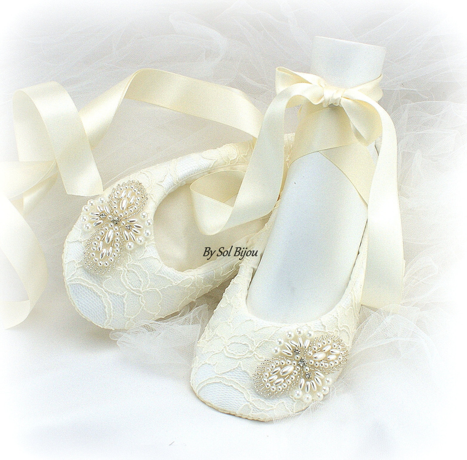 beaded ballet flats shoes ivory lace flats ivory ballet shoes wedding flats lace ballet slippers bridal shower shoes vintage wed