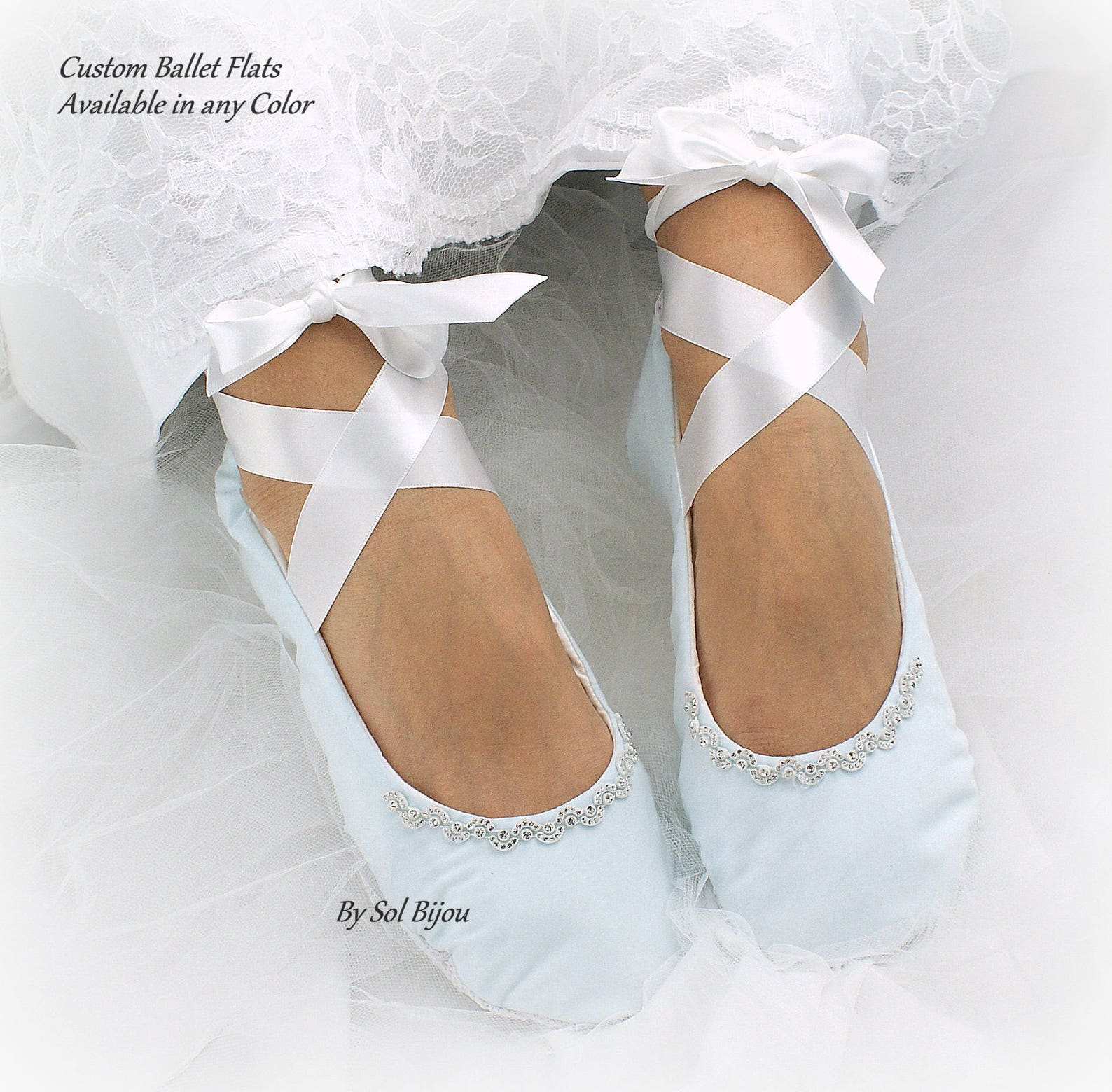 wedding ballet flats,ivory,light blue,something blue,ballet slippers,lace ballet flats,custom ballet flats,wedding flats,vintage