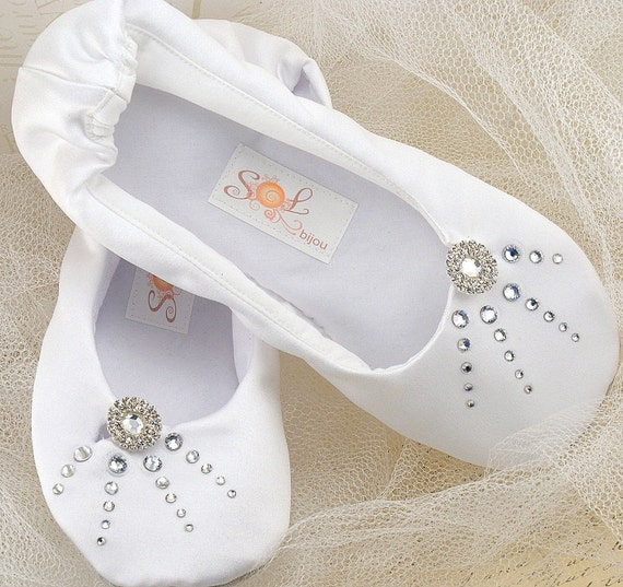 Ballerines blanches mariage appartements Ballet Flats   Etsy af558971bdc3