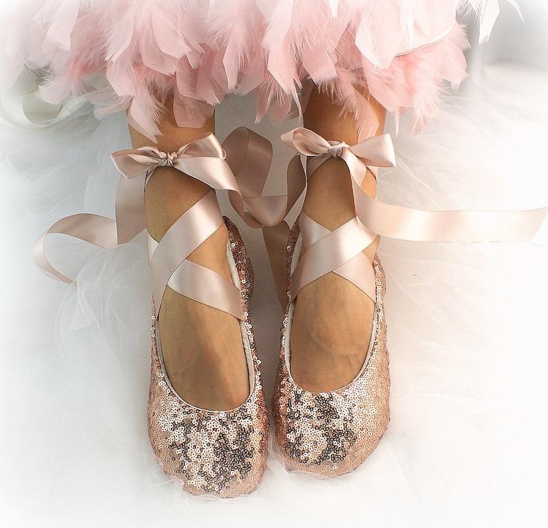 ballerina's met glitter
