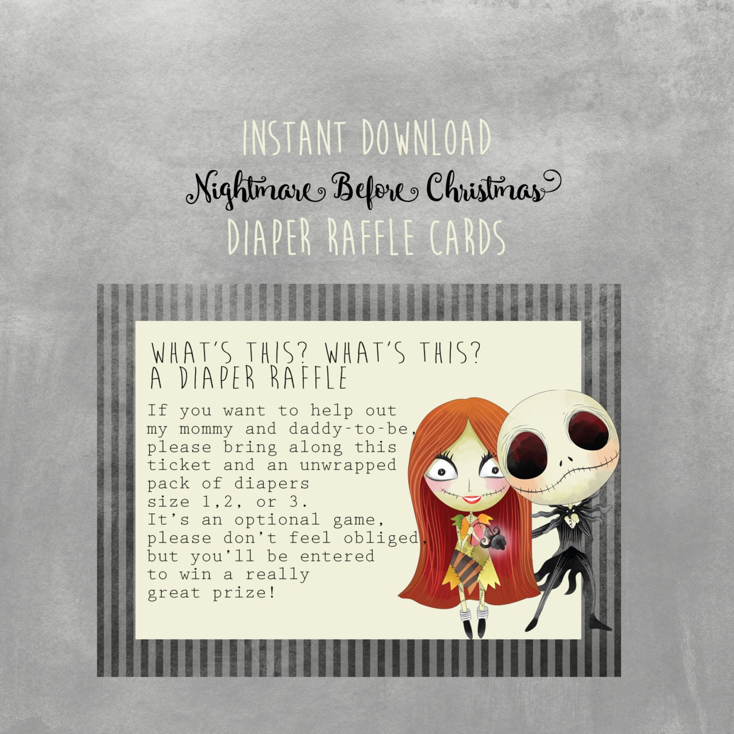 It is a picture of Sweet Nightmare Before Christmas Downloads