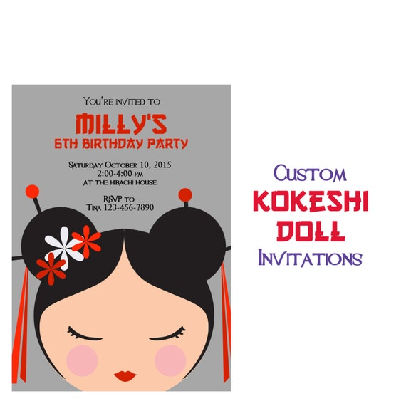 Asian party invitation wording