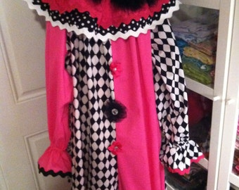 Adult  Boutique Style Clown Costume XL-XXL