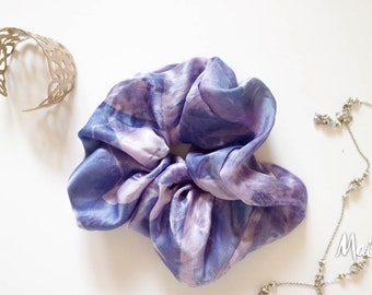 Silk Satin Oversize style Hair Scrunchie, snag-free scrunchy