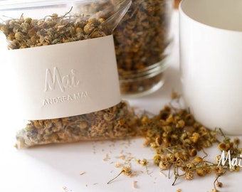 Organic German Chamomile, Product of Canada, Dried Chamomile Flowers, Homegrown Herbs, Chamomile for Herbal Teas, Extracts, Tinctures