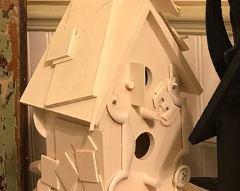 Birdhouse, CUSTOM Made: The House That Stacks Built