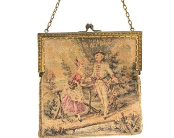 beautiful vintage tapestry bag  ...     vintage evening purse