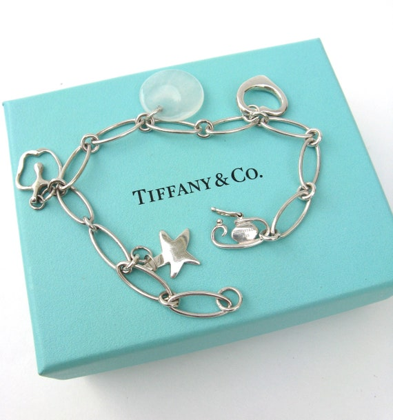 6b844da33 Vintage Tiffany & Co sterling silver bracelet ... elsa | Etsy