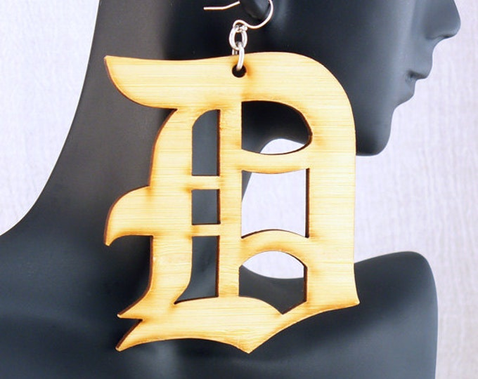 Bamboo Detroit Earrings