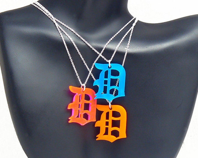 Candy Color Detroit Necklace