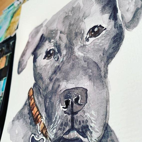 Custom Pet Portrait 5x7