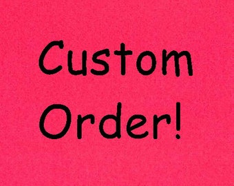 Custom Listing for Michelle Pardo