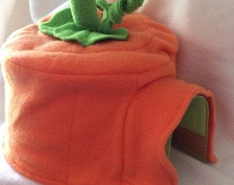 Pumpkin Igloo House Fleece Cover, Made to Order