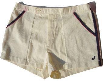 Vintage 80s Jantzen White Sports Shorts Sz 34 – As Is