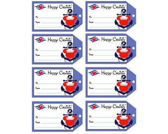 Instant Digital Download Fish Extender Gift Tags Dcl Fe Etsy