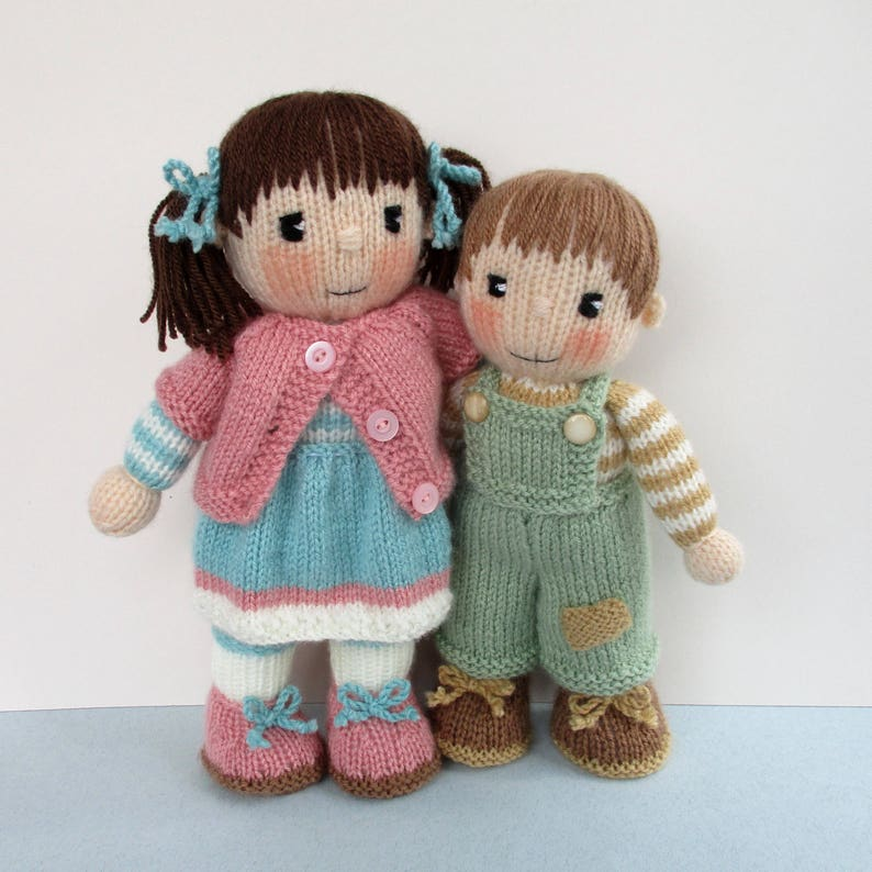 3cd923f72e3f65 Penny and Patch 10 12 26cm 30cm doll