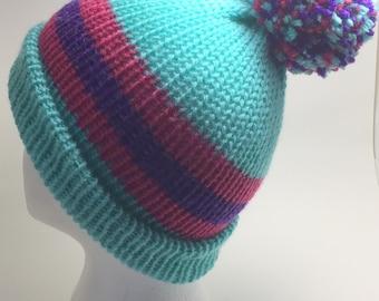 FREE SHIPPING! Handmade Lightweight Knit Hat, Warm, Winter, Winter Hats, Ski Hat, Beanie Cap, Accessories, Classic Winter Hat, Cap