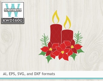 Svg Christmas Cutting File Etsy