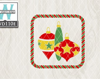 View Christmas Cutting File Kwd008E PNG