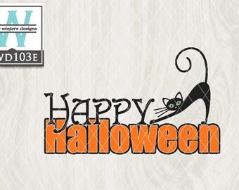 Articulos Similares A Archivo De Corte Con Tematica De Halloween De Svg Kwd004 Dxf Eps De Svg Png En Etsy