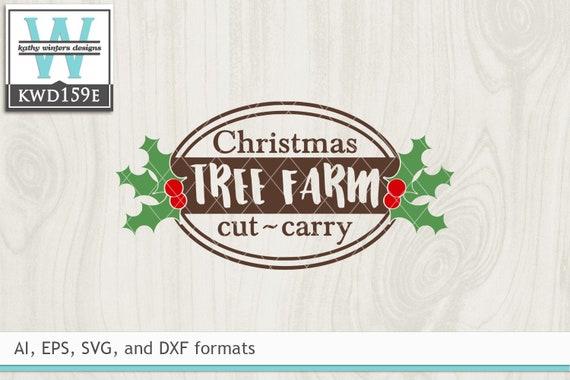 Svg Christmas Cutting File Kwd159e Etsy
