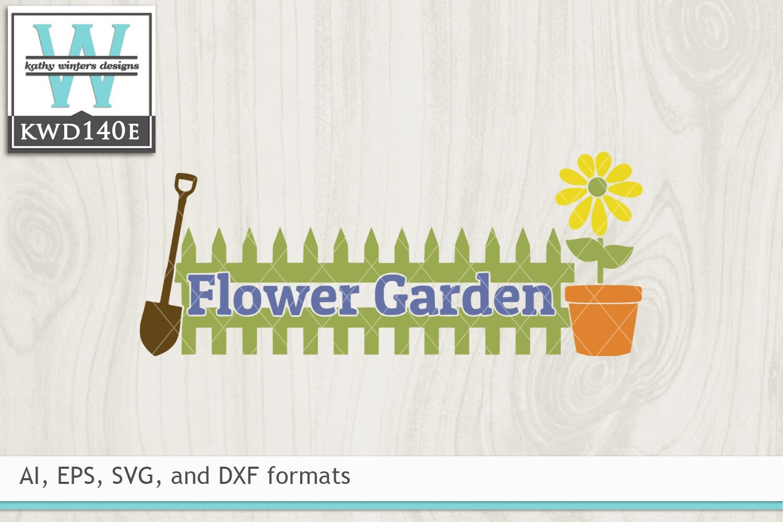 Svg Garden Cutting File Kwd140e Etsy