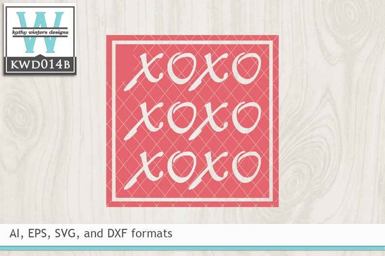 Svg Valentine S Cutting File Kwd014b Etsy