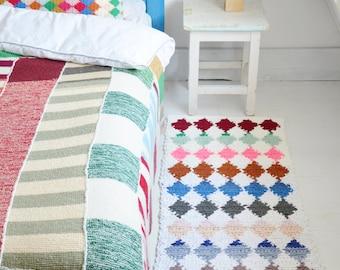 woodwoolstool harlequin rug pattern