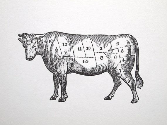 il_570xN.337911510 letterpress art print le boeuf 8x10 beef meat cuts chart etsy