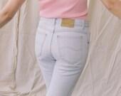 1980s Light Wash Straight Jeans | sz 29