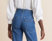 Vintage 70s Deadstock Lee Carpenter Patch Pocket Jeans