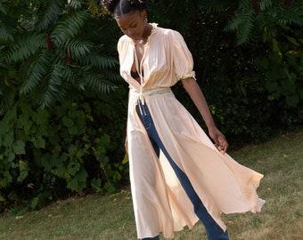 1930s Boudoir Dressing Gown