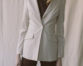 1990s Bebe One Button Blazer