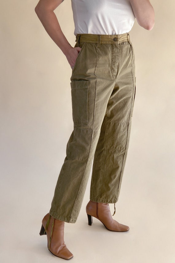 1950s Army Double Panel Cotton Pants