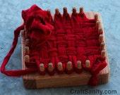 CraftSanity Mini Potholder Ornament Loom