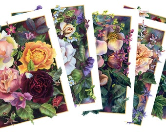 Set of 5 Cards - A Summer of Roses Series