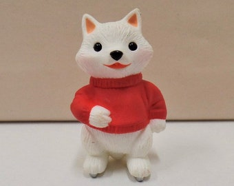 Hallmark Quick as a Fox Christmas Ornament 1993 NOS NRFB Postman