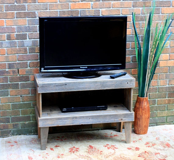 Tv Stand Tv Stand Rustic Media Cabinet Reclaimed Wood Tv Etsy