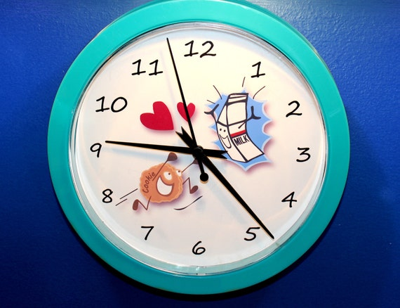 e76ec6d3f Kids Milk   Cookies Clock Clearance Sale 9.99
