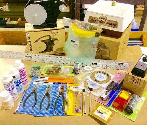 Stained Glass Tool Kit.Stained Glass Tool Kit