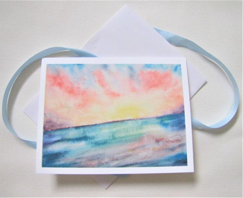 SunriseSunset 10 Notecard Set 8 notecard set