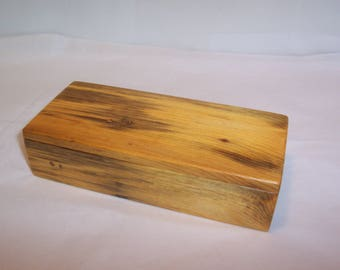 Handcrafted Reclaimed Pine Wood Box