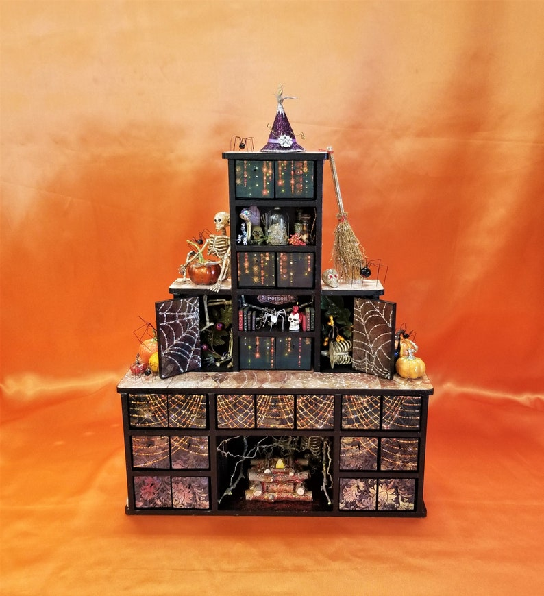Witch Apothecary Cabinet