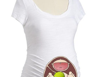 369a0d249c061 Tennis Ball Baby in Belly. Maternity Shirt. DIY. Apply To Any Shirt.  Instant Download. Digital File