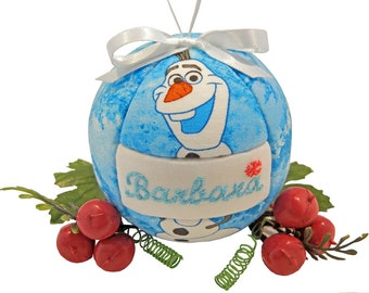 Frozen Christmas Ornament, Personalized Gift, Home Decor, Childs Gift, Gift Under 20, Christmas Ornament, Children, Gift, Tree Decoration