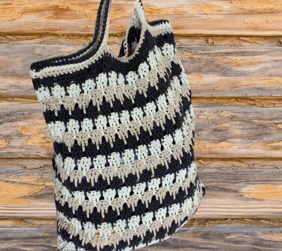 Crochet Bag Pattern Pattern For Crocheted Bag Shades Of Etsy