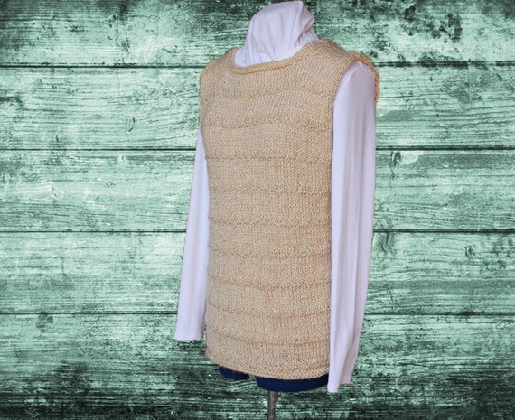 Knit Sweater Pattern Knitted Vest Pattern Knit Tunic Etsy