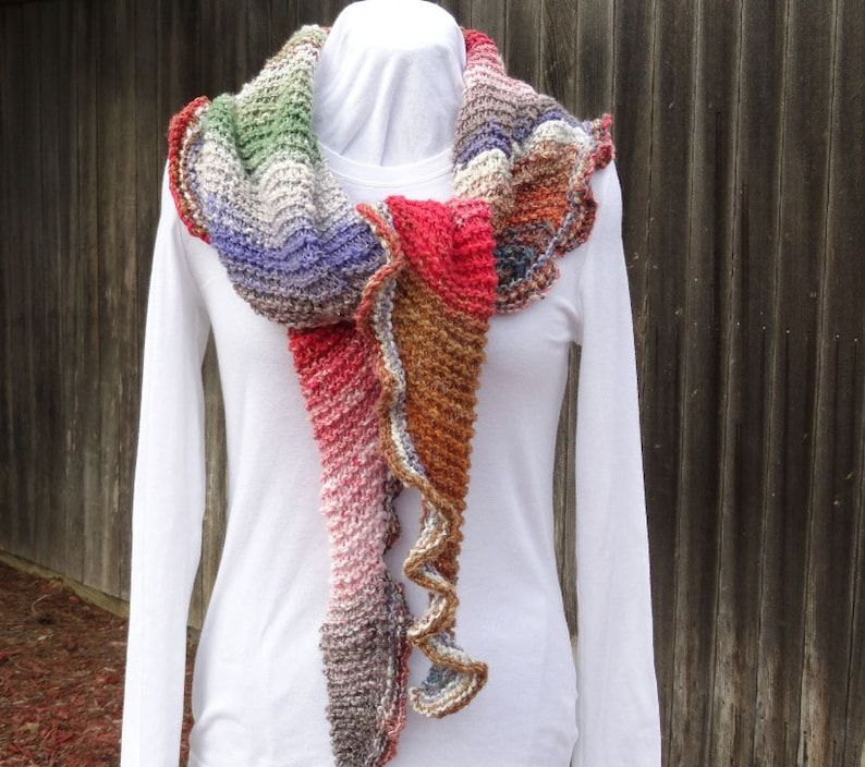 Easy to Knit Shawl Pattern Free Knitting Pattern Patterns ...