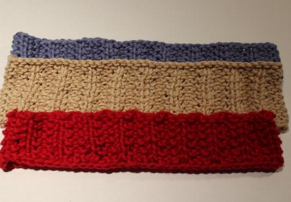 Knitting Patterns For Headbands Knit Headband Pattern Etsy